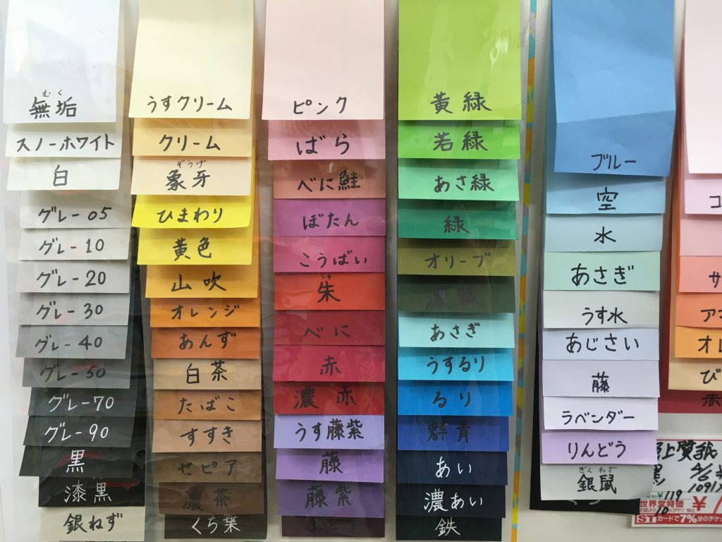 Japanese stationery shops